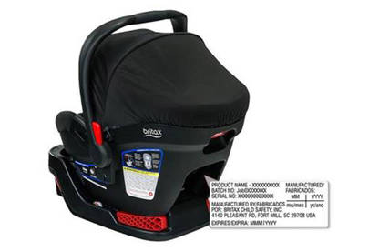 16mar britax b safe car seats identification