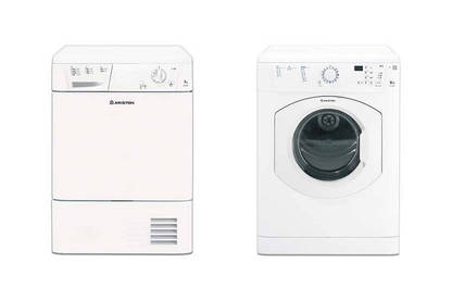 16mar ariston   indesit tumble dryers
