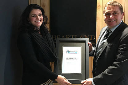 Heartland Seniors Finance national manager Lisa Hatfield and Consumer NZ general manager – business Derek Bonnar.