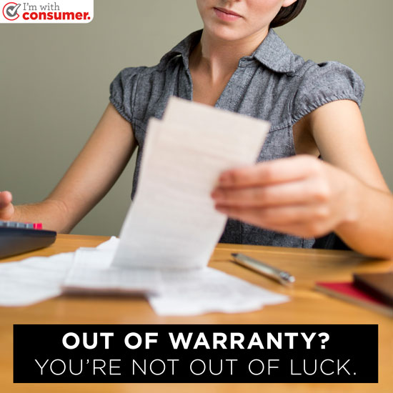 Out of warranty? You're not out of luck.