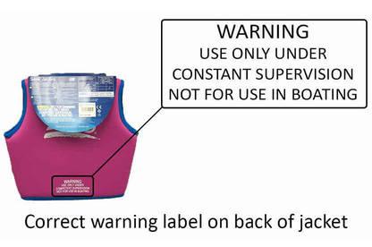 16sep zoggs swim jackets correct label