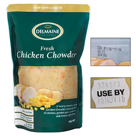 16oct delmaine chicken chowder 450px