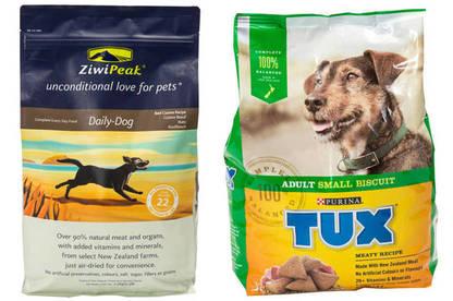 16oct pet food premium vs standard