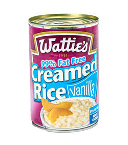Creamed rice lite