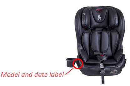 Details Potentially Affected Columbus V2 Car Seats