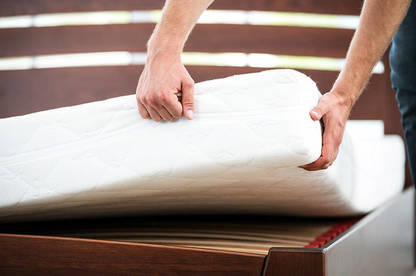 Latex mattresses are often promoted as an environmentally-friendly option.