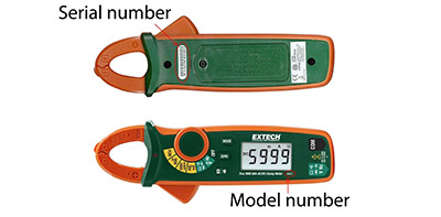 17jul extech digital clamp meters