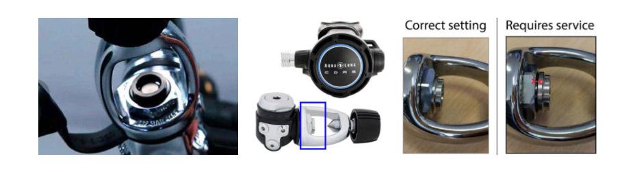17jul aqua lung yoke acd diving regulators
