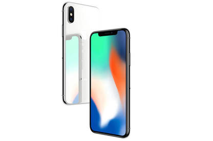 The iPhone 8 and X have glass on the back as well as the front.