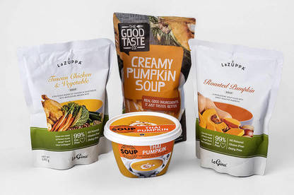 These soups had lower-than-average sodium and saturated fat levels, and at least 3g of fibre per cup.