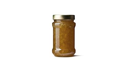 Jar of sauce.