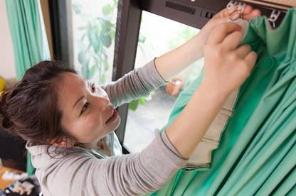 Hanging curtain