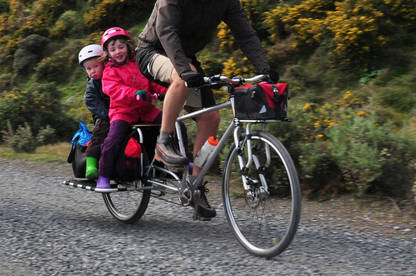 Cargo bikes, the family wagon option of bike carriers.