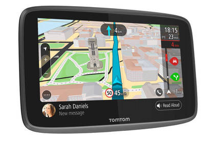 "Directions are easy to follow on the 6"" glass touchscreen."