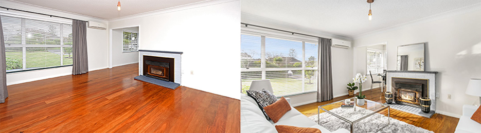Auckland home staging comparison