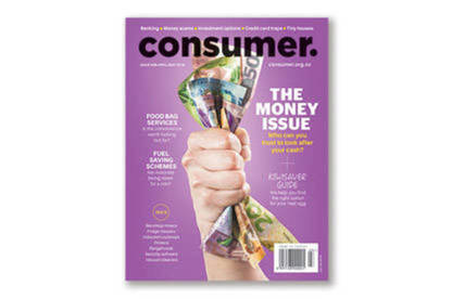 Our April/May magazine is the money issue.