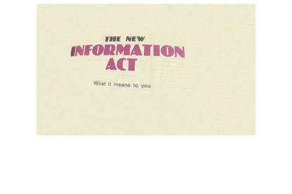 19may consumer in the 80s info act