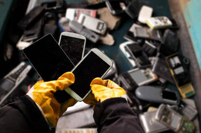 "Refurbishing ""obsolete"" products could  be a step towards reducing e-waste."