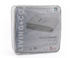 15 living and co electric blanket fitted queen sro8223 queen