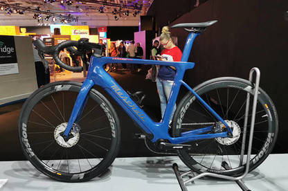 A 12kg hand-made road bike by Maserati will set you back a cool €10,000!