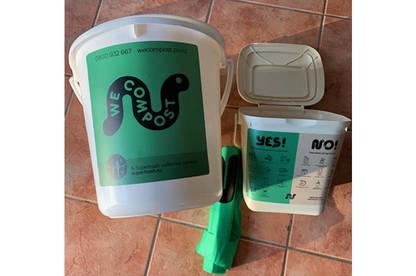 WeCompost 20L bin (Auckland)