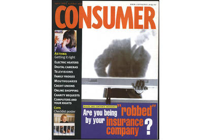 Consumer magazine cover on house and contents insurance