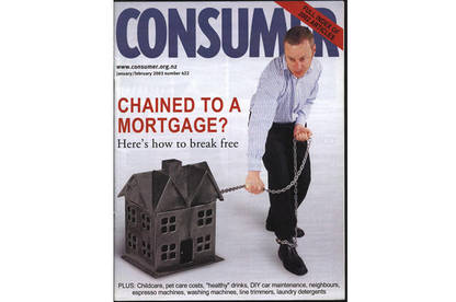Consumer magazine cover on reducing your mortgage