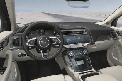 Jaguar I-Pace cabin interior