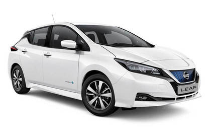 2019 Consumer NZ People's Choice car award winner Nissan Leaf