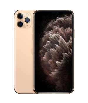 Front and back view of iPhone 11 Pro.