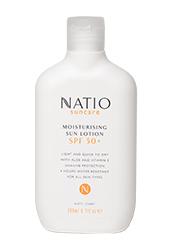 Natio Suncare Moisturising Sun Lotion SPF50+