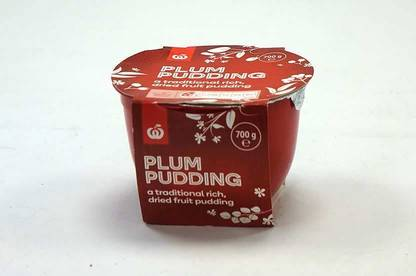 Essentials Plum Pudding.
