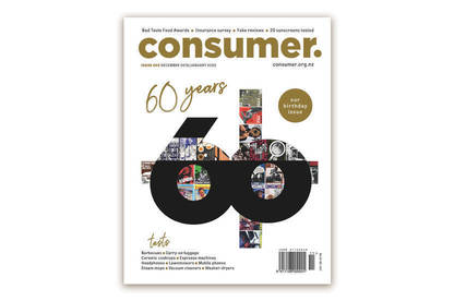 Cover of the latest Consumer magazine.