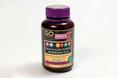 GoHealthy Calm and Sleep Support Magnesium Plus.