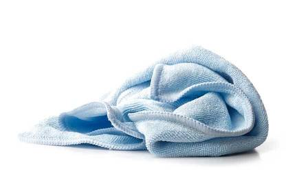Microfiber cloth.