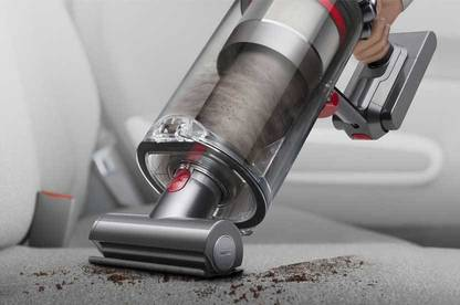 Dyson V11 Outsize vacuum in handheld mode.