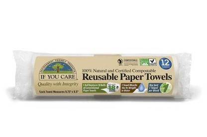 If You Care Reusable Paper Towels.