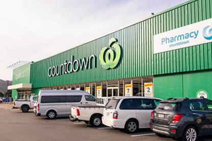 Countdown supermarket.