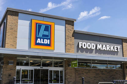 ALDI supermarket.