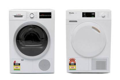 Left: Bosch; Right: Miele.