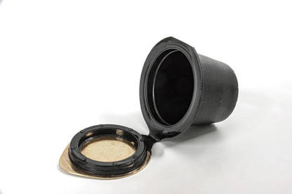 Nespresso Reusable Coffee Capsule – Standard Model open