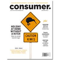 Cover of Consumer NZ magazine October November issue.