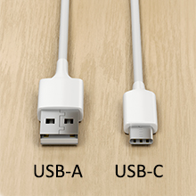 USB ports compared.