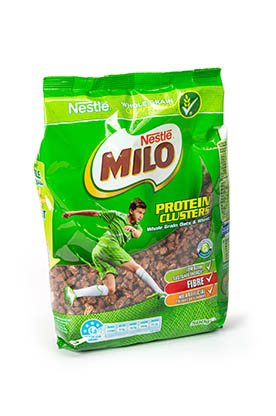 Milo protein clusters med