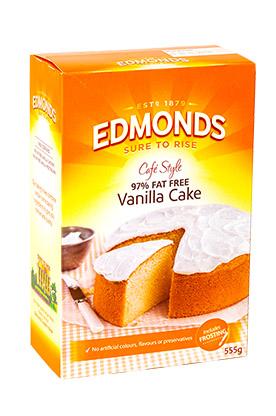 Edmonds 97 fat free vanilla cake med