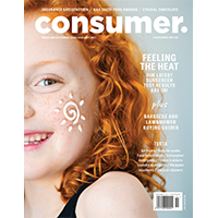 Cover of Consumer NZ magazine December-January issue.