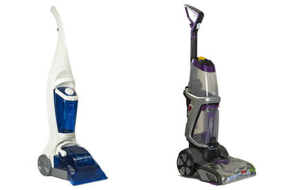 Living & Co Carpet Washer and Bissell ProHeat 2X Revolution Pet Deep Cleaner