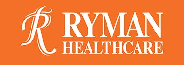 Ryman Healthcare logo.