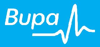 Bupa logo.