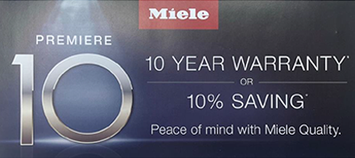 Miele 10% saving program.